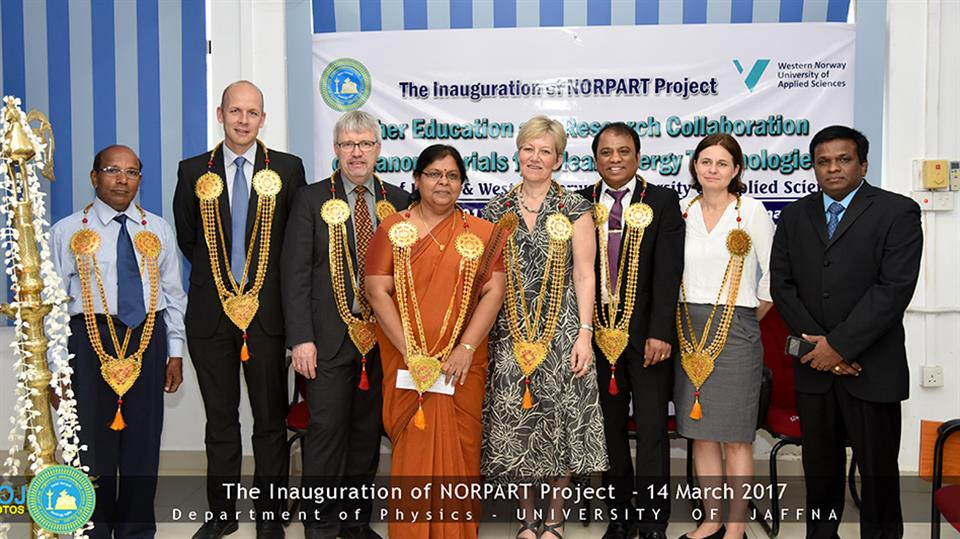 The Inauguration of NORPART project